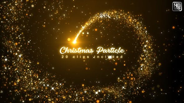 Thumbnail for Particles Christmas