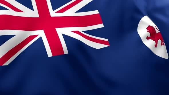 Tasmania Flag - 4K