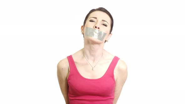 Thumbnail for Abused Woman in Silence Domestic Violence