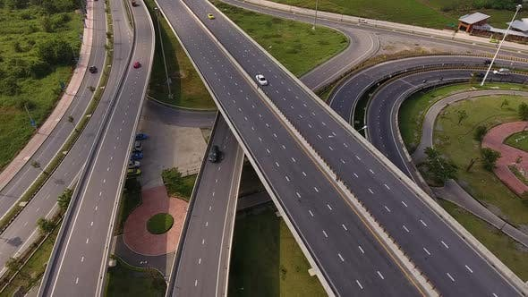 Thumbnail for Above Highway Traffic