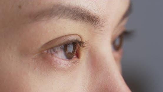 Thumbnail for Close up of Mixed race woman's eyes