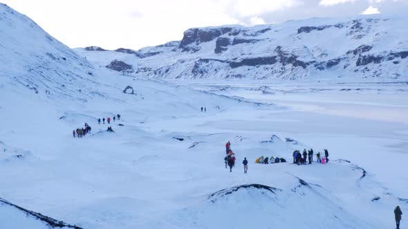 Thumbnail for Iceland Winter View Of Guided Tours Of Glaciers 2