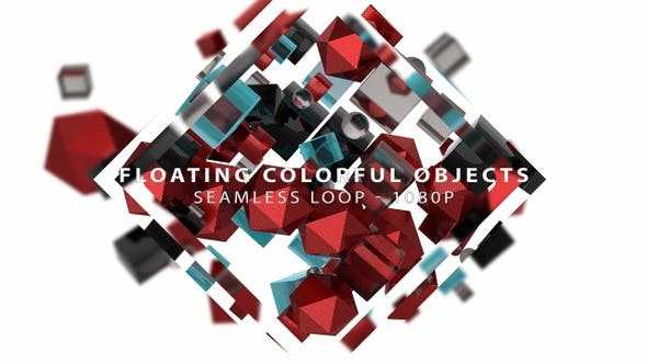 Thumbnail for Floating Colorful Objects