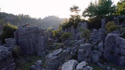 Incredible Stone Formations Scenery