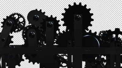 Machine Gears - Spinning Loop - II