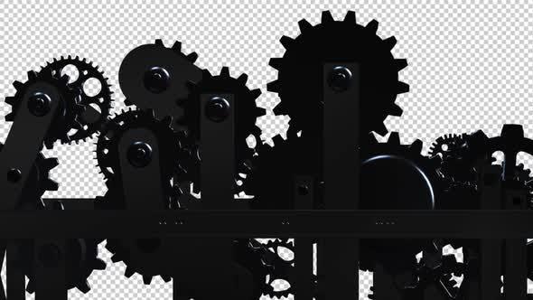 Maschinengetriebe - Kreislauf - II