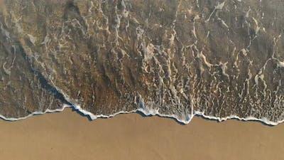 Streaked, Multi-Colored Seashore
