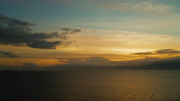 Thumbnail for Sunset Over the Sea. Moalboal, Philippines