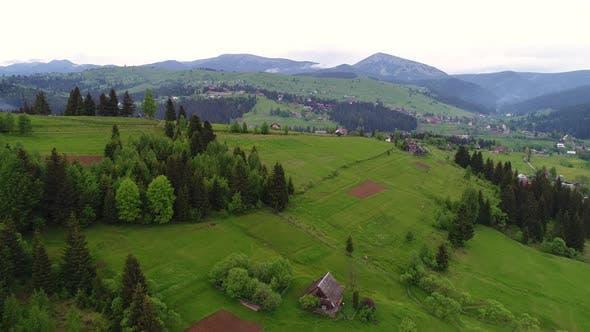 Thumbnail for Mountain Village Landscape
