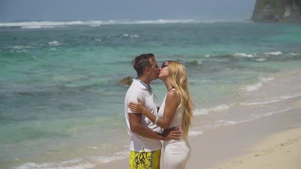 Thumbnail for Family Couple on the Beach.