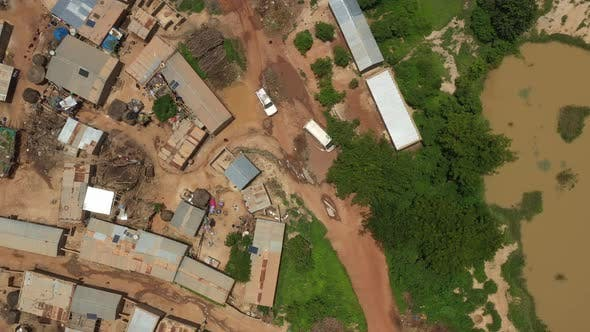 Thumbnail for Africa Mali Village Aerial View 24