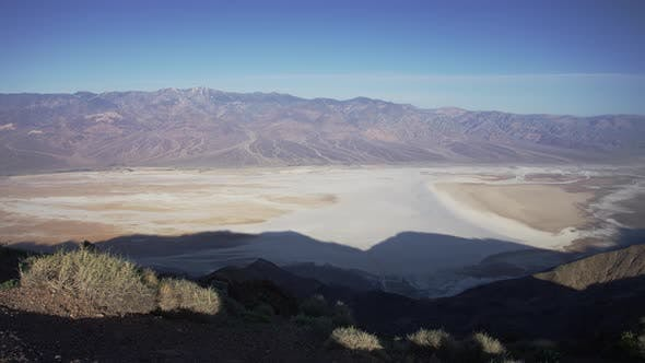 Thumbnail for Pan right of the Badwater Basin