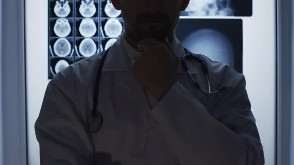 Thumbnail for A concerned doctor