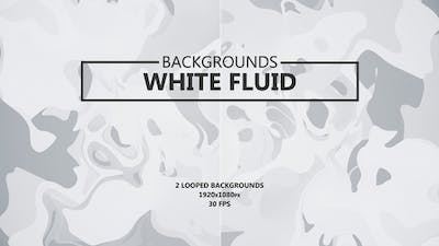 Fluid White Backgrounds