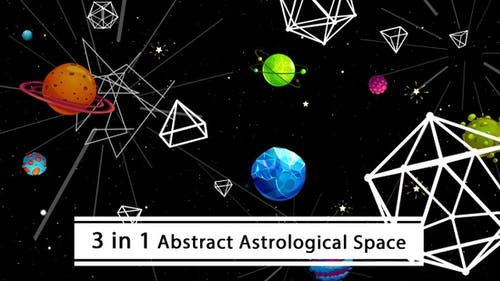 Abstract Astrological Space