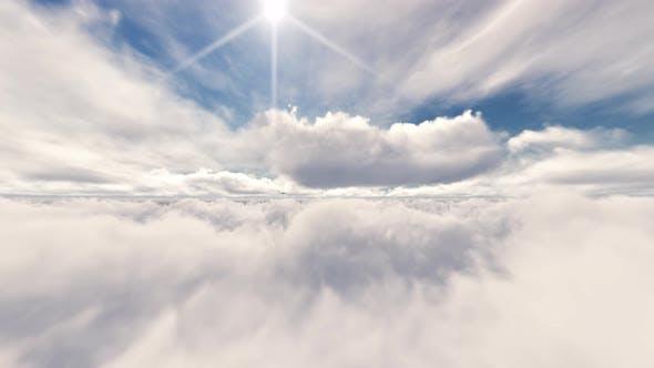 Thumbnail for The Plane Flying In Sky 03 4K