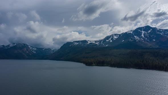 Thumbnail for Lake & Mountains Aerial
