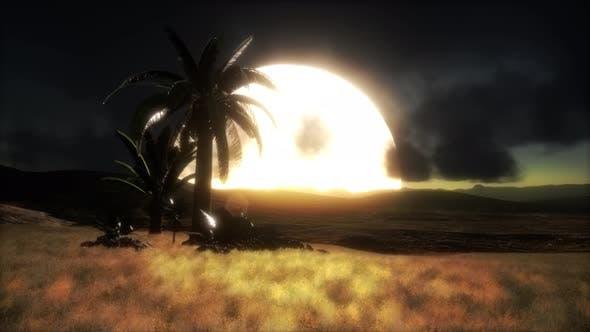 Sunset at Sand Dunes