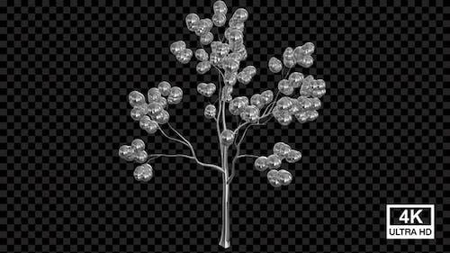 Growing Metal Sphere Tree