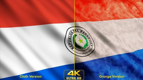 Cover Image for Paraguay Flags