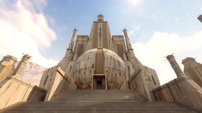 Big Ancient Temple