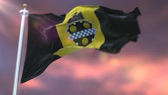 Pittsburgh City Flag, United States