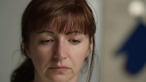 Portrait of a Tired Sad Woman, Some Problems, Economic Crisis