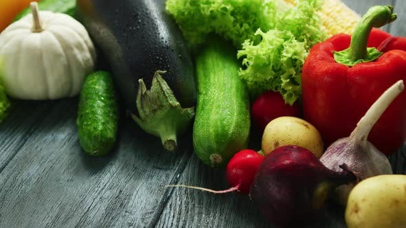 Thumbnail for Abundance of Fresh Ripe Vegetables