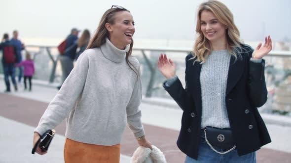 Thumbnail for Girls Walk on the Bridge
