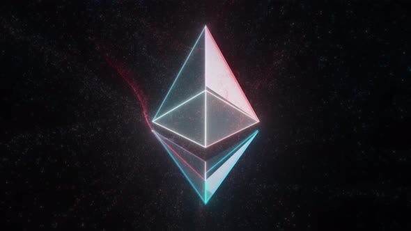 Thumbnail for Ethereum Crypto Currency Emblem 4k