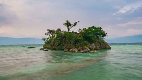 Time lapse: Samosir island Lake Toba Sumatra Indonesia