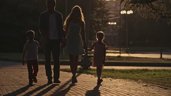 Thumbnail for Evening Family Walk