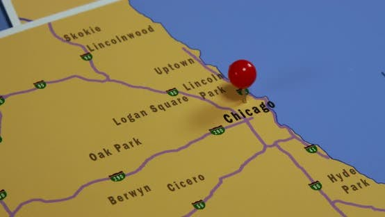 Thumbnail for Map Of Chicago 01b