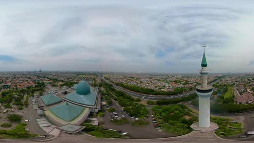 Thumbnail for Moschee Al Akbar in Surabaya Indonesien. Vr 360