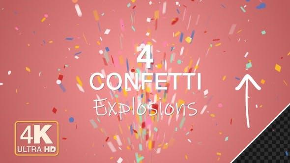 Thumbnail for Confetti Burst 4K