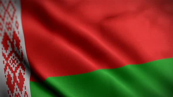 Thumbnail for Belarus Flag Closeup Blowing In Wind