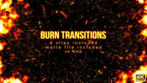 Burn Particle Transitions