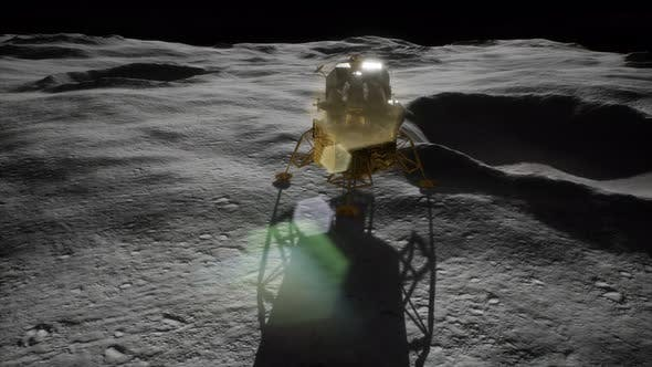 Thumbnail for Lunar Landing Mission on the Moon