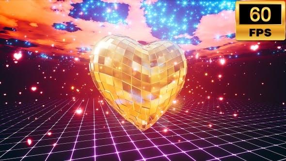 Thumbnail for Gold Disco Heart