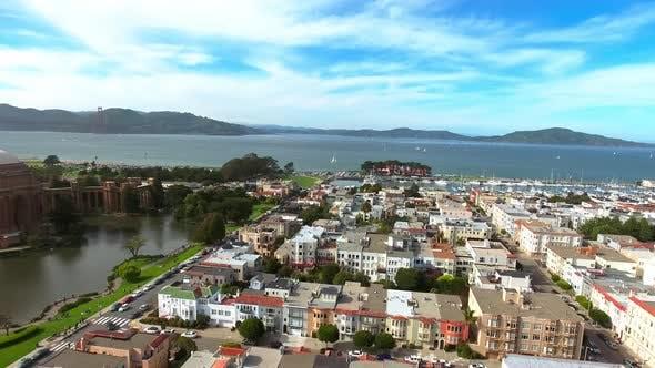 Thumbnail for Presidio of San Francisco. Aerial View.