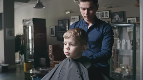 Thumbnail for Little Client in Barbershop