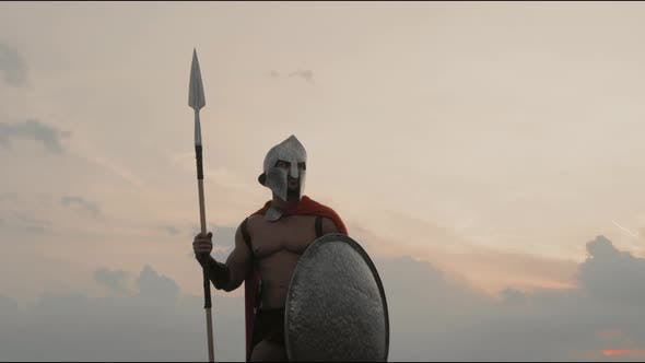 Spartan Holding Spear Outdoors