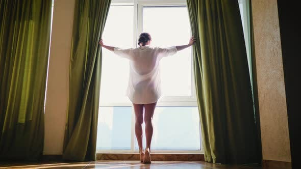 Woman in the Morning