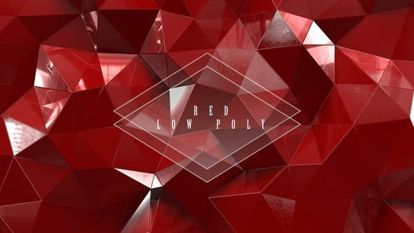 Thumbnail for Red Low Poly Wi̇th Glass