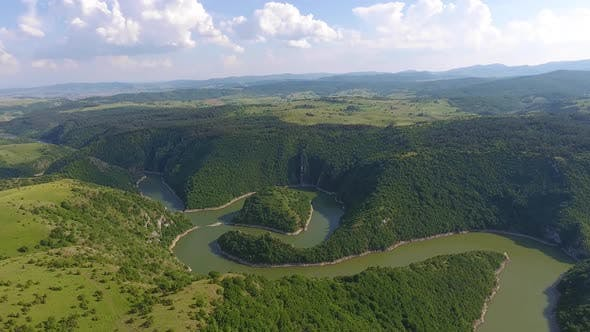 Thumbnail for Meanders at Rocky River Uvac in Serbia