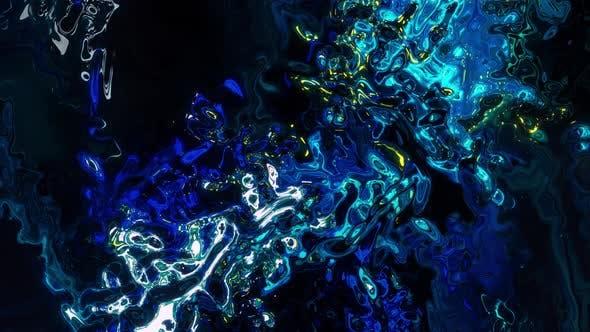 4K - Psychedelic Liquid Backround
