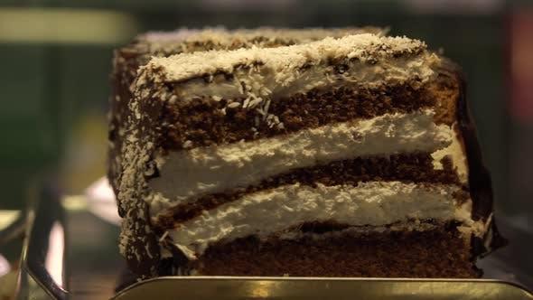 Thumbnail for Closeup on Desserts on Metallic Trays
