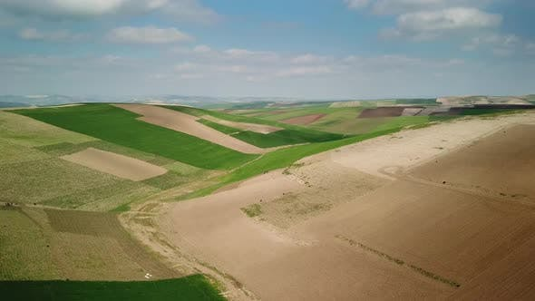 Thumbnail for Hilly Agricultural Fields in Morocco , Africa