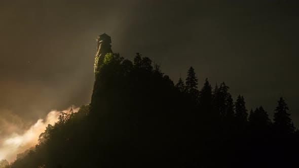 Thumbnail for Mysterious Fog over Dracula Castle