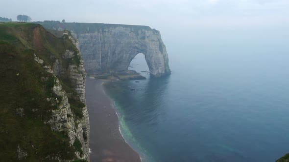 Rocky Cliffs And The Sea 19